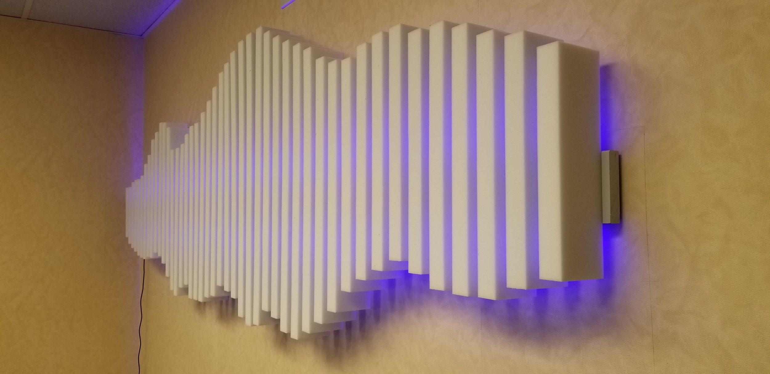 LED Sound Bar Project